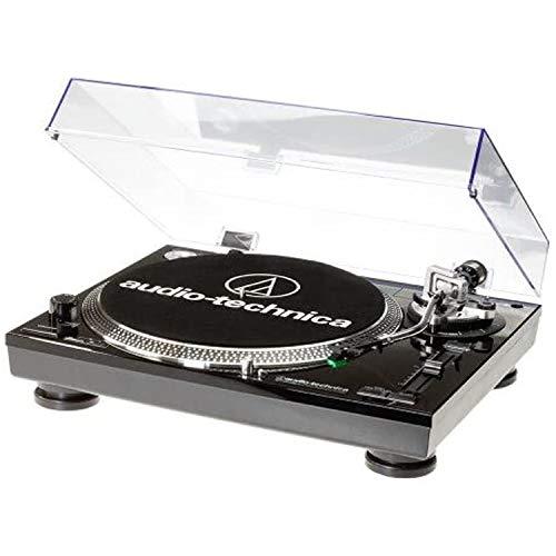 Audio Technica AT-LP120USBHC Plattenspieler mit Direktantrieb inkl. Tonabnehmer AT95E & Headshell...