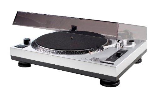 Dual DTJ 301 USB DJ-Plattenspieler (33/45 U/min, Pitch-Control, Magnet-Tonabnehmer-System,...